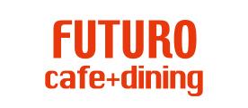 FUTUROcafe(フトゥロカフェ)|愛知県春日井市の 柔らかスペアリブで有名な子供•犬(ドッグ)OKなカフェランチ ロゴ